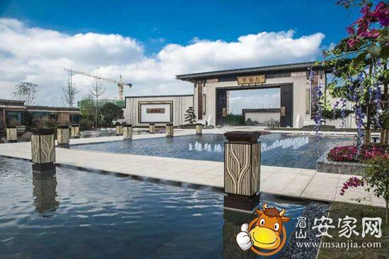 眉山鹭湖云锦台