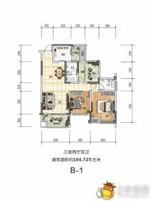 洪州壹號户型图