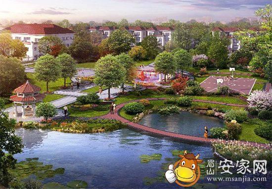 双中庭滨湖墅景,多享一倍的美景