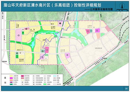 公共服务设施规划图