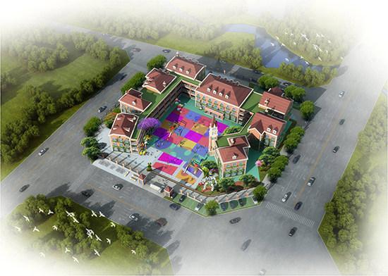 关于城北第一幼儿园规划设计方案的批前公示