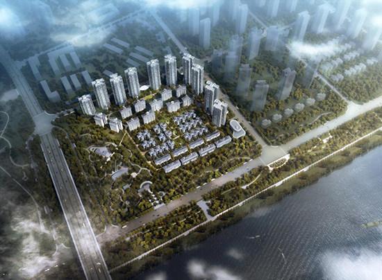 关于万景峰汇规划设计调整方案的公示